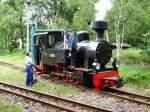 Dampf/187532/luise-bekommt-wasser Luise bekommt Wasser