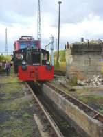 dieselloks/187744/kleinlokomotive-in-schoeneweide Kleinlokomotive in Schöneweide